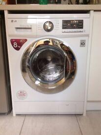 LG 8KG Automatic Washing Machine AAA+ Rating