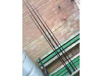 Shimano diaflash bug rods x2