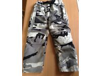 Motocross trousers for 8-10 year old