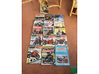 Motorcycle magazines various x 16 good condition