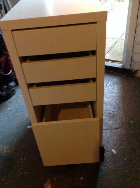 size 40 83fcb 7bfe9 IKEA MICKE FILING CABINET in white   in Eynesbury, Cambridgeshire   Gumtree