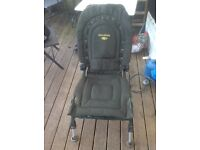Fishrite challenger fully padded reclining chair