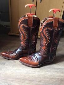 "Ladies ""Sendra"" cowboy style boots. Size 38."