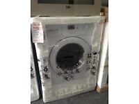 Beko 6.5kg intergrated washing machine. £249 RRP £299. NEW 12 month Gtee