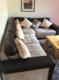 Left hand corner settee (DFS) Further Price reduction