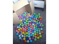 Soft play pit balls