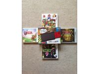 NINTENDO 3DS LOT WITH GAMES