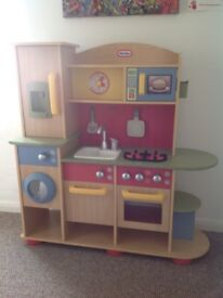 £70 Little Tikes Wood Kitchen