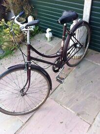 Barn Find Ladies Raleigh Cycle