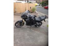 Triumph tiger 1050 in black with side boxes. Selling as I need to upgrade my car
