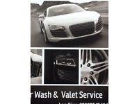 Auto valeting