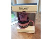 Jack Wills mug and shower gel set