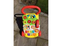 VTech Baby Walker - used by our grandson when he came to visit but has now outgrown.