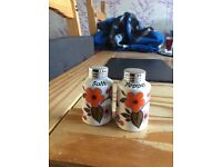 Antique.. collectible.. kitsch.. salt and pepper set