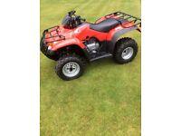 Honda TRX 250 ES Utility ATV Quad £1400 less than current RRP