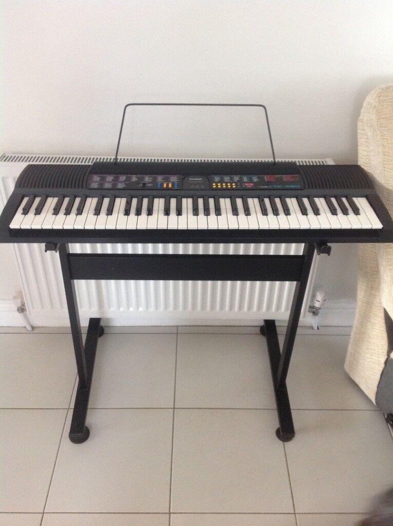 Casio electric keyboard CTK-480