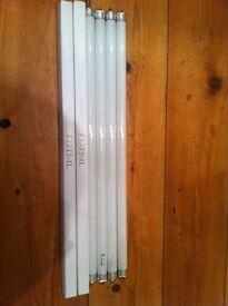 6 x 410mm Fluorescent Smilight Tube Warm White 13 Watt