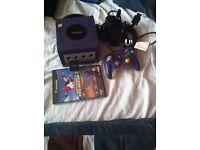 Nintendo GameCube with tony hawk game