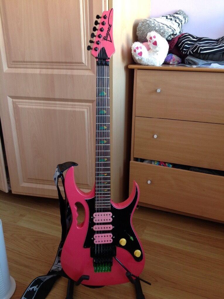Ibanez Jem guitar. Steve Vai signature model guitar copy.