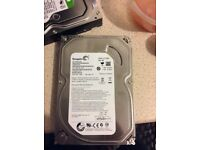 Seagate 500 go hard drives