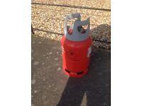 Calorite Red 6Kg Propane Bottle - almost full - camping / caravanning / motorhomes