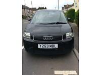 Audi A2 - 1.4 - 2001 - Black - 5 Door Hatchback - Manual - Petrol