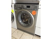 NEW HOTPOINT WMFUG942 9kg 1400spin Silver Washing Machine with 4 MONTHS WARRANTY
