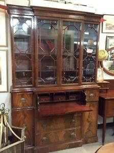 Antique Secretary with Key
