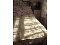 Natural colour new hand crochet blanket