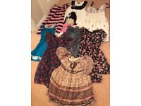 Young ladies size 8 dresses