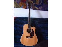 Martin Dreadnought Semi-Acoustic - Barely played!