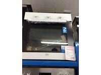 Beko single built in oven. White £159 new/graded 12 month Gtee