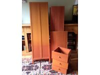 MOTHERCARE CHILD'S WARDROBE WITH DRAWERS
