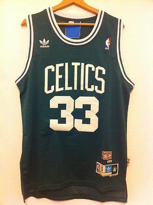 Maglia canotta NBA basket Larry Bird Jersey Boston Celtics Retro S,M,L,XL,XXL