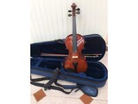 Violin 1/2 excellent condition STRINGERS
