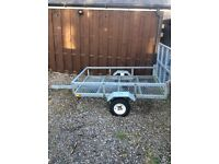 Galvanised 6x4 trailer