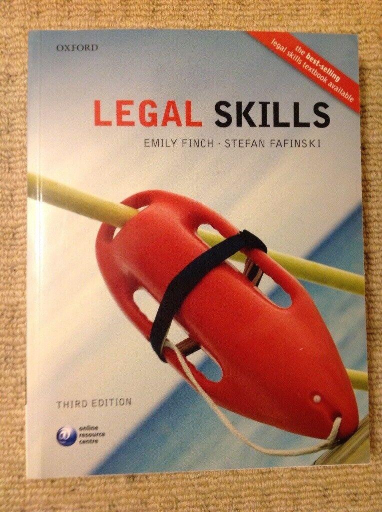 Law book, Legal Skills