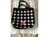 A Brand New Lulu Guinness Shopping Bag especially made for Red Nose Day on Comic Relief
