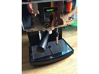 Magimix M300 Nespresso Coffee Maker -black with chrome panel!USED