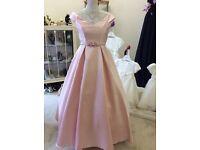 Stunning blush pink dress