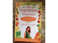 Vegetarian pregnancy book £1 HAROLD HILL