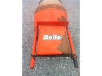 cement mixer - with stand - electric