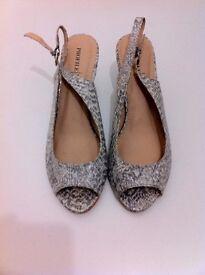 brand new snake skin shoes