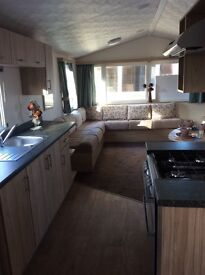 Seton sands 2 bed deluxe caravan dog friendly