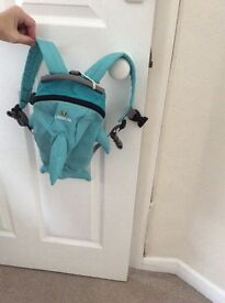 A littlelife dolphin style back carrier.