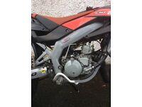 Aprillia SX50 learner legal motorbike