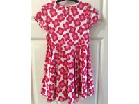 Girls summer dress, age 7-8 years, worn once