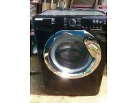 Hoover Dynamic Next Washing Machine Black & Chrome 9kg 1400 For Sale