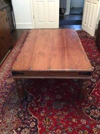 Very Large Thakat Solid Wood Coffee Table