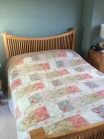 Beautiful John Lewis Kingsize Bed Frame - Excellent Condition